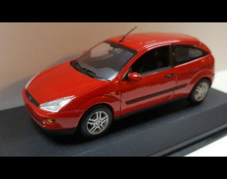 FORD Focus Saloon 3-dr (1997), red
