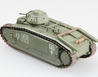 Танк B1 bis, Париж, 1944 г.