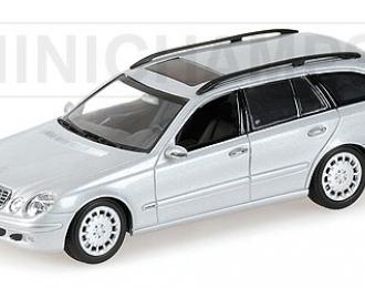 MERCEDES-BENZ E-Class T-Model S211 (2003), silver