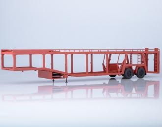 Полуприцеп-автовоз 934410 (А908), красный
