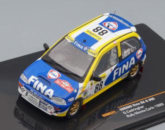 SUBARU Vivio RX-R 88 G.Cadringher Rally Monte Carlo 1999, blue