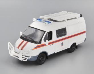 Горький 2705 АСМ МЧС, Автомобиль на службе 37, белый
