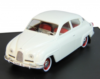 SAAB 96 Standard (1961), roadcar polar white