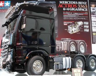 Сборная модель Радиоуправляемый тягач Mercedes-Benz Actros 3363 GigaSpace