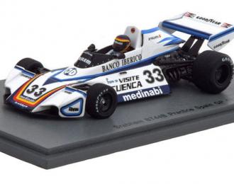 Brabham BT44B #33 Practice Spainish GP 1976 Emilio de Villota