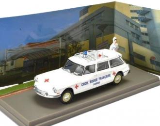 """CITROEN ID19 Break Ambulance """"Croix Rouge Francaise"""" 1967"""