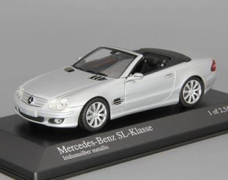 MERCEDES-BENZ SL (2007), silver