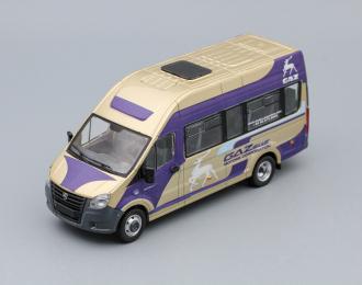 (Конверсия!) ГАЗель Next A65R32 пассажирская Motors Corporations, бежевый