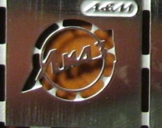 Фототравление Эмблема Ликинский автобус (никелирование)