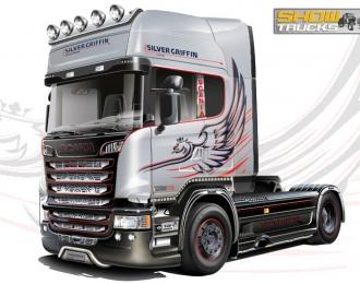 """Сборная модель Автомобиль Scania R730 V8 Streamline """"Silver Griffin"""""""
