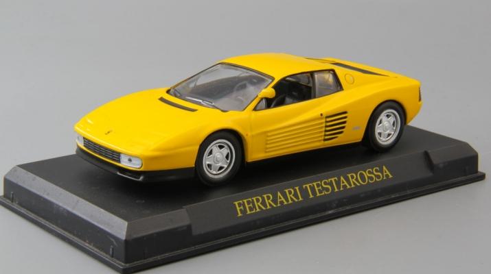 FERRARI Testarossa, yellow