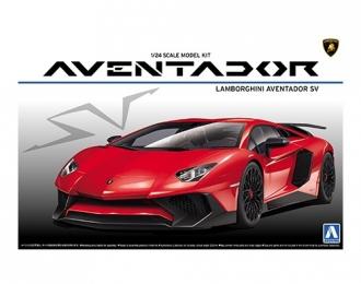Сборная модель Автомобиль Lamborghini Aventador LP750-4 SV