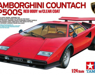 Сборная модель LAMBORGHINI Countach LP500S с фигурой водителя
