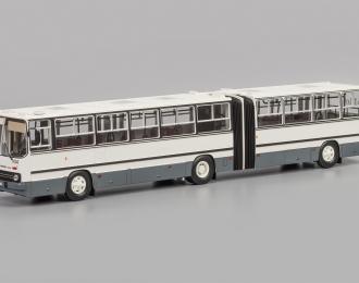 IKARUS-280.33 с гос. номерами, бело-серый
