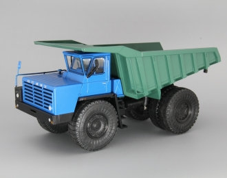 БелАЗ-548А самосвал, синий / зеленый