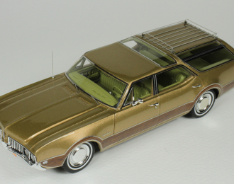 OLDSMOBILE Vista Cruiser 1969 Aztec Gold