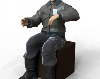 Сборная модель Фигура Водитель №1
