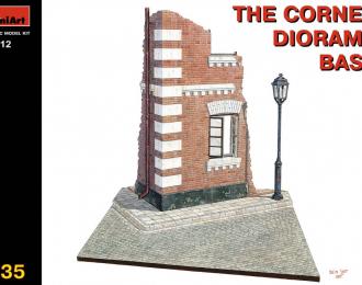 Сборная модель Перекресток - основание диорамы