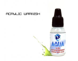Лак Полуглянцевый  Aqua