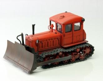 Т-74 бульдозер поздний (оранжевый)