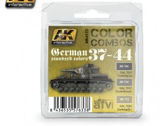 GERMAN STANDARD 37-44 COLOR COMBO (набор из трёх красок)