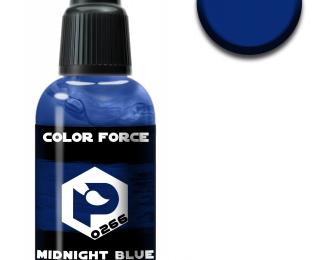 полуночный синий (midnight blue)