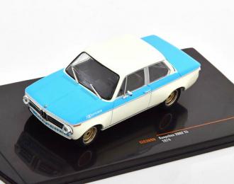 BMW Koepchen 2002 Tii (1974), white / blue