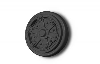 Передние колесные диски для троллейбуса ЗИУ-9 (682), цена за 2 шт.