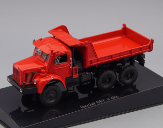 (Уценка!) BERLIET GBC 8 6X6 Benne (самосвал) (1958), red
