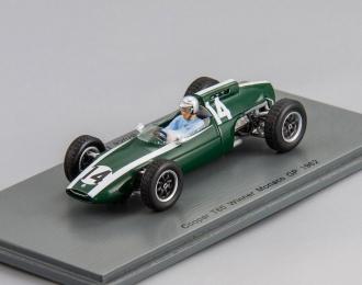Cooper T60 #14 Winner Monaco GP Bruce McLaren (1962), green / white