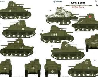 Декаль для M3 Lee in Red Army   Part II