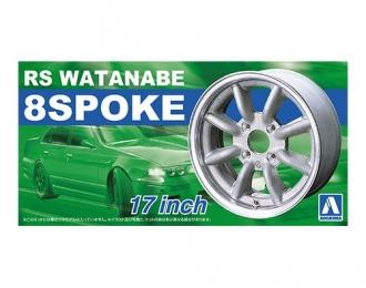 Набор дисков RS Watanabe 8 Spoke 17 Inch