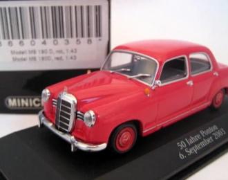 "MERCEDES-BENZ 180 ""Ponton"" (W120), red"