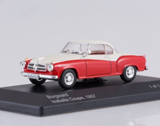 BORGWARD Isabella Coupe (1957), red/creme