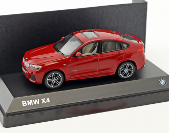 BMW X4 (2015), red metallic