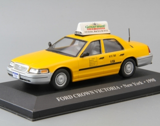 TOYOTA Crown Victoria New York (1998), yellow