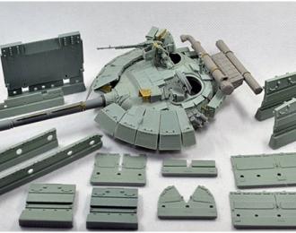 """T-64БМ """"Булат"""" Конверсионный набор включает фототравление"""