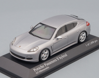 PORSCHE Panamera S Hybrid (2011), silver metallic