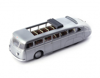 Skoda 532 Autobahnbus, silver-metallic, Czech Republic, 1938