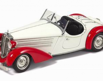 AUDI Front 225 Roadster 1935, white red