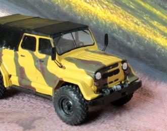 Сборная модель УАЗ Барс-01 (на базе ГАЗ-66)
