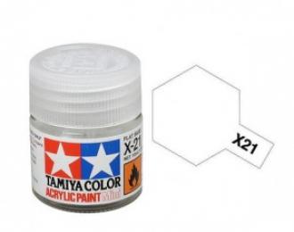 X-21 Flat Base (матовая основа для акриловых красок бесцветная), 10 мл.