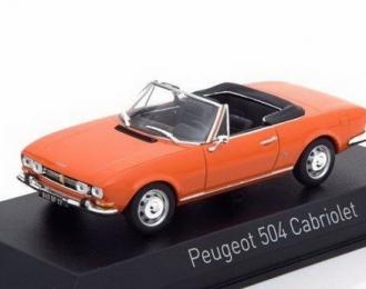 PEUGEOT 504 Cabriolet 1970 Capucine Yellow