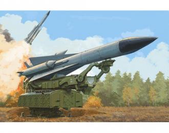 Сборная модель ЗРК Russian 5V28 of 5P72 Launcher SAM-5 Gammon