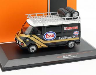 "FIAT 242 техничка с багажником и колесами на крыше ""ESSO"" 1986"
