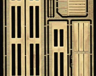 Фототравление Внутренняя расшивка бортов моделей Горький 3307/08/09