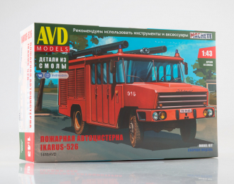 Сборная модель Пожарная автоцистерна Ikarus-526