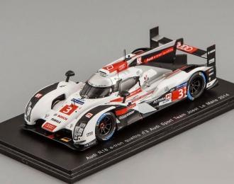 Audi R18 e-tron quattro #3 Le Mans 2014 Joest F. Albuquerque -M. Bonanomi - O. Jarvis