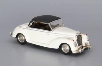 MERCEDES-BENZ 220 Cabrio A closed Top (1951), white