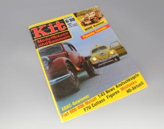 Журнал Kit Modellbauen und Sammeln 6/88 Juni